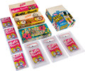 Non-Sport Cards:Unopened Packs/Display Boxes, 1960's Fleer & Leaf Obscure Issue Packs & Wax BoxCollection (11 Pieces). ...