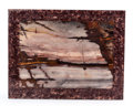 "Lapidary Art:Carvings, Outback Jasper ""Picture"". Stone Source: Australia.Artist: Konstantin Libman. 9.65 x 7.50 x 0.30 inches(24.50 x 1..."