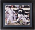 "Autographs:Photos, ""The Flip"" Multi-Signed Oversized Photograph with Jeter, Giambi,& Posada. . ..."