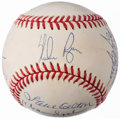 Autographs:Baseballs, 300-Win Club Multi-Signed Baseball (8 Signatures).. ...