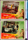 "Movie Posters:Fantasy, It's a Wonderful Life (RKO, 1946). CGC Graded Lobby Cards (2) (11""X 14"").. ... (Total: 2 Items)"