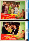 """Movie Posters:Fantasy, It's a Wonderful Life (RKO, 1946). CGC Graded Lobby Cards (2) (11""""X 14"""").. ... (Total: 2 Items)"""
