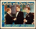 "Movie Posters:Crime, Angels with Dirty Faces (Warner Brothers, R-1943). Lobby Card (11"" X 14"").. ..."