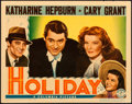 "Movie Posters:Comedy, Holiday (Columbia, 1938). Lobby Card (11"" X 14"")."