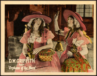 """Orphans of the Storm (United Artists, 1921). Lobby Card (11"""" X 14"""")"""