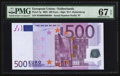 World Currency, European Union Netherlands 500 Euros 2002 Pick 7p.. ...