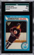 Hockey Cards:Singles (1970-Now), 1979 Topps Wayne Gretzky #18 SGC 96 Mint 9 - Only One Higher....