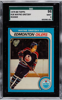 1979 Topps Wayne Gretzky #18 SGC 96 Mint 9 - Only One Higher