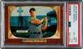 Baseball Cards:Singles (1950-1959), 1955 Bowman Mickey Mantle #202 PSA EX-MT+ 6.5....