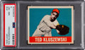 Baseball Cards:Singles (1940-1949), 1948 Leaf Ted Kluszewski #38 PSA NM-MT 8 - Only Two Higher....
