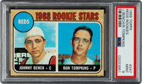1968 Topps Johnny Bench - Reds Rookies #247 PSA Mint 9