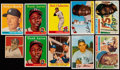 Baseball Cards:Lots, 1949 - 1959 Topps And Bowman Baseball Collection With Many Stars(52). ...