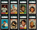 Baseball Cards:Sets, 1961 Topps Baseball Mid To High Grade Collection (475+)....