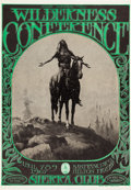Music Memorabilia:Posters, Wilderness Conference Sierra Club Concert Poster AOR-2.365 (1967)....