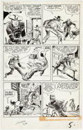 Original Comic Art:Panel Pages, Jack Kirby and Dick Ayers The Rawhide Kid #25 Story Page 5Original Art (Marvel Comics, 1961)....