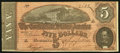 Confederate Notes, T69 $5 1864 PF-12 Cr. UNL.. ...