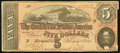 Confederate Notes, T69 $5 1864 PF-10 Cr. 564.. ...
