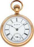 Timepieces:Pocket (post 1900), Rockford Unique 22 Jewel Two Tone 18 Size. ...