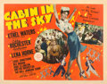 "Movie Posters:Musical, Cabin in the Sky (MGM, 1943). Half Sheet (22"" X 28"") Constantin Alajalov Artwork.. ..."