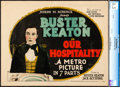 "Movie Posters:Comedy, Our Hospitality (Metro, 1923). CGC Graded Title Lobby Card (11"" X14"").. ..."
