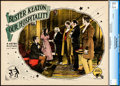Movie Posters:Comedy, Our Hospitality (Metro, 1923). CGC Graded Lobby Ca...