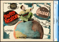 "Movie Posters:Comedy, College (United Artists, 1927). CGC Graded Title Lobby Card (11"" X14"").. ..."