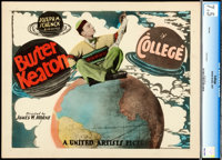 """College (United Artists, 1927). CGC Graded Title Lobby Card (11"""" X 14"""")"""
