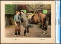 "Movie Posters:Comedy, The Blacksmith (First National, 1922). CGC Graded Lobby Card (11"" X14"").. ..."