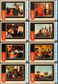 "Movie Posters:Drama, Giant (Warner Brothers, 1956). CGC Graded Lobby Card Set of 8 (11""X 14"").. ... (Total: 8 Items)"
