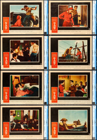 "Giant (Warner Brothers, 1956). CGC Graded Lobby Card Set of 8 (11"" X 14""). ... (Total: 8 Items)"
