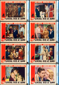 "The General Died at Dawn (Paramount, 1936). CGC Graded Lobby Card Set of 8 (11"" X 14""). ... (Total: 8 Items)"