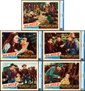 "Movie Posters:Western, Red River (United Artists, 1948). CGC Graded Lobby Cards (5) (11"" X14"").. ... (Total: 5 Items)"