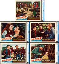 """Red River (United Artists, 1948). CGC Graded Lobby Cards (5) (11"""" X 14""""). ... (Total: 5 Items)"""