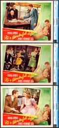 "Movie Posters:Fantasy, It's a Wonderful Life (RKO, 1946). CGC Graded Lobby Cards (3) (11"" X 14"").. ... (Total: 3 Items)"