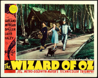 "The Wizard of Oz (MGM, 1939). Lobby Card (11"" X 14"")"