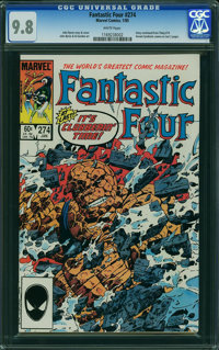Fantastic Four #274 (Marvel, 1985) CGC NM/MT 9.8 WHITE pages
