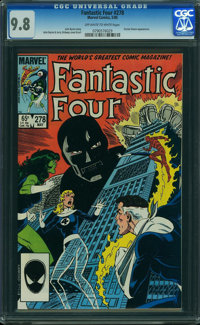Fantastic Four #278 (Marvel, 1985) CGC NM/MT 9.8 OFF-WHITE TO WHITE pages