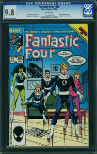 Fantastic Four #285 (Marvel) CGC NM/MT 9.8 WHITE pages