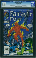 Modern Age (1980-Present):Superhero, Fantastic Four #289 (Marvel, 1986) CGC NM/MT 9.8 WHITE pages.