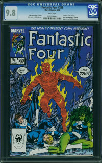 Fantastic Four #289 (Marvel, 1986) CGC NM/MT 9.8 WHITE pages