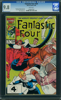 Fantastic Four #294 (Marvel) CGC NM/MT 9.8 WHITE pages