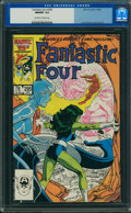 Modern Age (1980-Present):Superhero, Fantastic Four #295 (Marvel) CGC NM/MT 9.8 Off-white to white pages.