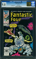 Modern Age (1980-Present):Superhero, Fantastic Four #297 - GOLDEN STATE COLLECTION (Marvel) CGC NM/MT 9.8 White pages.
