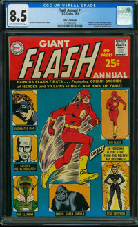 The Flash Annual #1 - John G. Fantucchio Collection (DC, 1963) CGC VF+ 8.5 Off-white to white pages