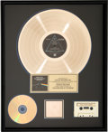 Music Memorabilia:Awards, Pink Floyd The Dark Side of the Moon RIAA Hologram GoldRecord Sales Award (Harvest SMAS-11163, 1973)....