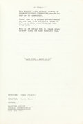 """Music Memorabilia:Documents, Jan and Dean-Related Script from the Never-Completed Film """"Easy Come, Easy Go.""""..."""