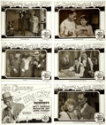 """Movie Posters:Crime, The Big City (MGM, 1928). Silver Nitrate Title Lobby Card &Lobby Card Transparencies (5) (10.25"""" X 13"""").. ... (Total: 6 Items)"""