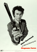 "Movie Posters:Action, Magnum Force (Warner Brothers, 1973). Promotional Poster (19.5"" X28"").. ..."