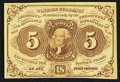 Fractional Currency:First Issue, Fr. 1231 5¢ First Issue About New.. ...