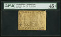 Colonial Notes:Rhode Island, Rhode Island May 1786 20s PMG Choice Extremely Fine 45 Net.. ...